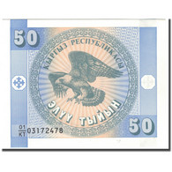 Billet, KYRGYZSTAN, 50 Tyiyn, KM:3, NEUF - Kyrgyzstan