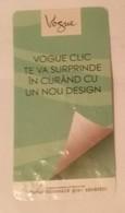ROMANIA-CIGARETTES  CARD,NOT GOOD SHAPE,0.91 X 0.48 CM - Tabac (objets Liés)