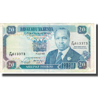 Billet, Kenya, 20 Shillings, 1989, 1989-07-01, KM:25b, SUP - Kenya