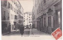 20 Corse - AJACCIO - Rue Stéphanopoli - Tabac - 1912 - Ajaccio