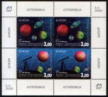 2009 Bosnia Herzegovina (Mostar) Michel 257-258+B18 Astronomia 22.70 € - Space