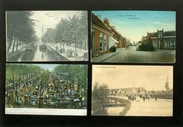 Beau Lot De 60 Cartes Postales Du Pays Bas      Mooi Lot Van 60 Postkaarten Van Nederland  Holland - 60 Scans - Cartes Postales