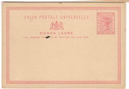 16553 - Entier - Sierra Leone (...-1960)