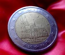 Germany 2 Euro -  F -  Coin  2011 Nordrhein-Westfalen  Coin CIRCULATED - Deutschland