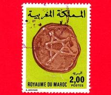 MAROCCO - Usato - 1977 - Moneta - Vecchia Valuta - Coin - 2.00 - Marocco (1956-...)