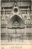 51gf 542 CPA - PARIS - NOTRE DAME - PORTE DU CLOITRE - Notre Dame De Paris