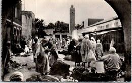 ALGERIE - BISKRA - Le Marché - Biskra