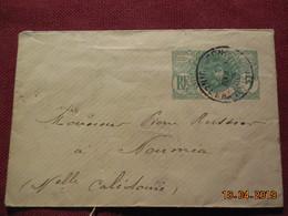 """Lettre Entier Postal De 1912 """"serie Faidherbe"""" à Destination De Nouméa - French Guinea (1892-1944)"""