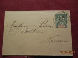 Lettre Entier Postal De 1907 à Destination De Nouméa - New Caledonia