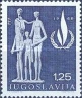 USED  STAMPS Yugoslavia - International Year Of Human Rights  -  1968 - 1945-1992 Socialist Federal Republic Of Yugoslavia