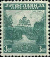USED  STAMPS Yugoslavia - Memorial Church - Oplenac  -  1937 - 1931-1941 Kingdom Of Yugoslavia