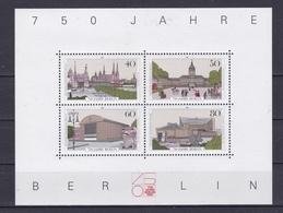 BERLIN  Xx 1987  MI 772-75  BF08  -  Postfrisch   -  VEDI FOTO ! - Nuovi