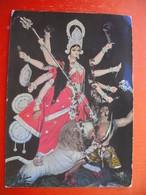 DURGA IMAGE AT PANDAL-CALCUTTA - India