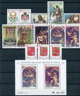 Malteser Orden Jahrgang 1983 Postfrisch MNH (MO18 - Malta (Orden Von)