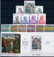 Malteser Orden Jahrgang 1978 Postfrisch MNH (MO13 - Malta (Orden Von)