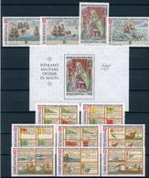 Malteser Orden Jahrgang 1977 Postfrisch MNH (MO12 - Malta (Orden Von)