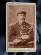 Photo CDV Anonyme - Portrait D'un Gendarme, Vers 1890 L436E - Anciennes (Av. 1900)