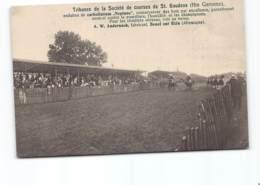 TRIBUNES DE LA SOCIETE DE COURSES DE ST GAUDENS ( Au Dos Pub Usine Hydraulique ) Champs De Courses Hippisme - Saint Gaudens