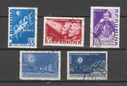 ROUMANIE 1961 Aérien   N° 144 / 48 Oblitere  Série Compléte - Oblitérés