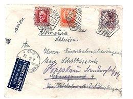 1932 Kieslingenwald > Resent To Breslau, One Stamp Off (309) - 1931-Aujourd'hui: II. République - ....Juan Carlos I