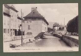 CHAMBERY Au Bord De Leysse ' écrite 1905 ( TTB état ) 1874 - Chambery