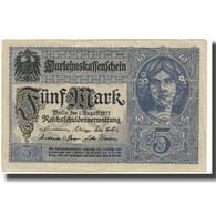 Billet, Allemagne, 5 Mark, 1917, 1917-08-01, KM:56a, TTB - [ 2] 1871-1918 : German Empire