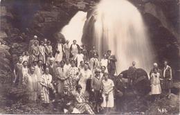 2 ALTE  Foto- AK  TRIBERG / BW  - Menschengruppe Vor Wasserfall -  1927 Beschriftet - Triberg