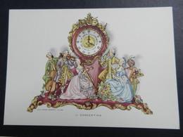 19922) IL CONCERTINO OROLOGIO CASA MAMMA DOMENICA MILANO SERIE PRIMA LE ORE SIGLATA CMD - Illustrators & Photographers