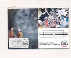 CPM GF - 19591 -Série 8 Cartes (emballage D'origine) - Tunnel Sous La Manche   -Envoi Gratuit - Publicité