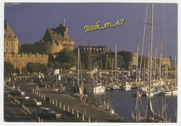 {72888} 35 Ille Et Vilaine Saint Malo , Les Remparts , Le Bassin Et Le Château - Saint Malo