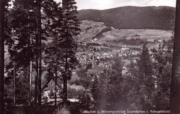 ALTE  Foto- AK   BAIERSBRONN / BW  - Gesamtansicht - 1939 Gelaufen - Baiersbronn