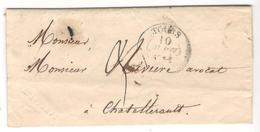 16600 - TOURS - Marcophilie (Lettres)