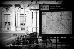 PARIS-Métro-Station Palais Royal-Musée Du Louvre (Edition à Tirage Limité) - Métro