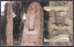 Guatemala 2004 Organisationen Postwesen UPAEP UNO ONU UNESCO Kulturerbe Tourismus Tourism Izabal Quiriguá, Bl. 36 ** - Guatemala