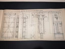 ANNALES DES PONTS Et CHAUSSEES (Dep 13) - Plan Du Canal De Panama  - Imp A.Gentil 1912 (CLF28) - Cartes Marines