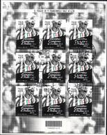 Italia 2014 Juventus Campione Minifoglio Annullo 1°giorno - Blocs-feuillets