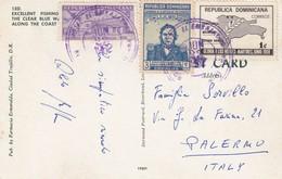 REPUBBLICA DOMENICANA  /   ITALIA - Card _ Cartolina - Repubblica Domenicana
