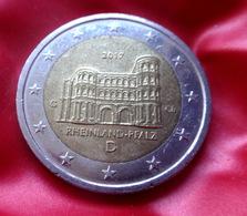 Germany 2 Euro 2017 Rheinland-Pfalz Porta Nigra -  G -  Coin  CIRCULATED - Deutschland