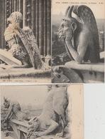 19 / 4 / 305  -  Lot  D E  19  CPA   -  PARIS  -     CHIMÈRES  DE. NOTRE DAME  - Toutes Scanées - Postcards