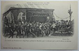 FETES FRANCO-RUSSES DE 1901 Les Invités Du Président De La République Quittant Le Pavillon Après Le Déjeuner Qui A Suivi - Bétheny