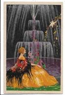 Illustratore Busi Adolfo. Donnina - Femme - Woman. - Busi, Adolfo