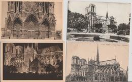 19 : 4 / 306. -  LOT  DE  39  CPA  DE  PARIS  NOTRE  DAME  - Toutes Scanées - Postcards