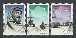 Australia AAT 2012 Phillip Law Centenary  Y.T. 197/199 ** - Territoire Antarctique Australien (AAT)