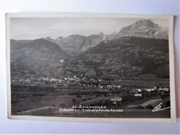 FRANCE - HAUTE SAVOIE  - SALLANCHES - Panorama - Sallanches