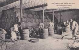 51 - Ay-Champagne - 1 - Tonnellerie - Pas Circulé - Animée - TBE - Ay En Champagne