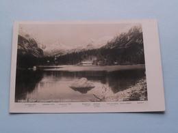 VYSOKE TATRY : POPRADSKE PLESO S CHATOU ( Edit.: Foto-Fon Praha ) 1928 ( See Photo For Detail ) ! - Tchéquie