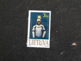 LITUANIE LIETUVA YT 626 OBLITERE - ARMURE - Lithuania