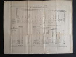 ANNALES PONTS Et CHAUSSEES (Dep 21) - Plan Des Grands Collecteurs De La Ville De Dijon - Imp L.Courtier - 1900 (CLF36) - Zeekaarten