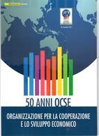 ITALIA 2011 - FOLDER 50 ANNI OCSE - POSTE ITALIANE - SENZA SPESE POSTALI - Folder