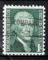 USA Precancel Vorausentwertung Preo, Locals Illinois, Lombard 841 - Vereinigte Staaten